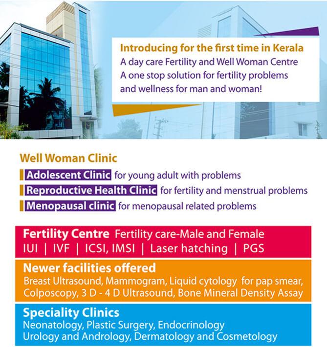 KJK Hospitals, Trivandrum
